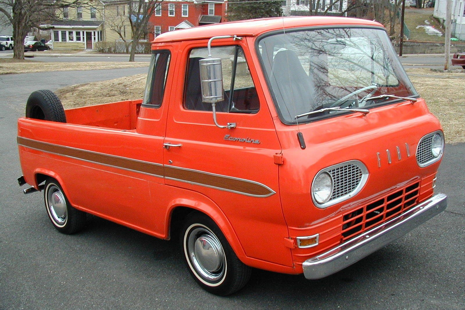 spring special 1965 ford econoline pickup. Black Bedroom Furniture Sets. Home Design Ideas