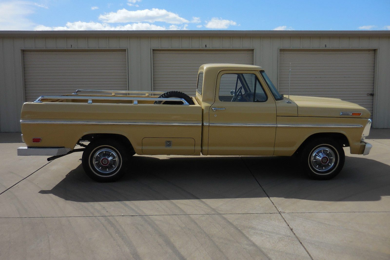 Tucson Gold In California 1968 Ford F 100 Survivor 1969 F100 Short Bed
