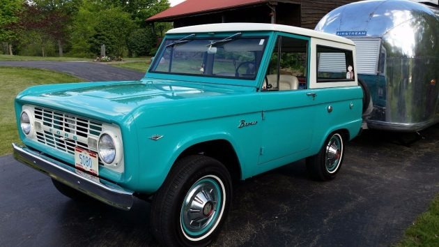 """Thumbs Up, Honking & Waving"": 1967 Ford Bronco"