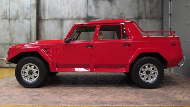 Given The Low Production Numbers And Desirability Of Lamborghinis Made In  The 80s And Earlier, Iu0027m Not Surprised The Seller Has Listed This LM002  With Such ...
