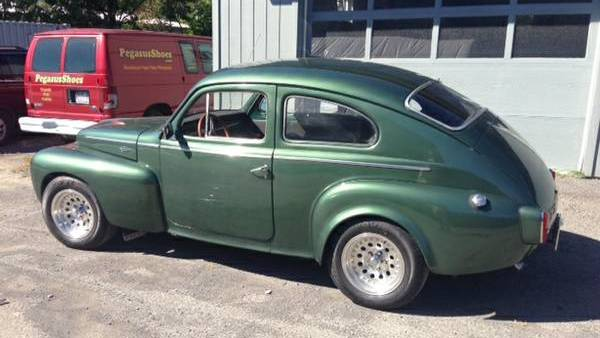 swedish hot rod: upgraded 1959 volvo 544