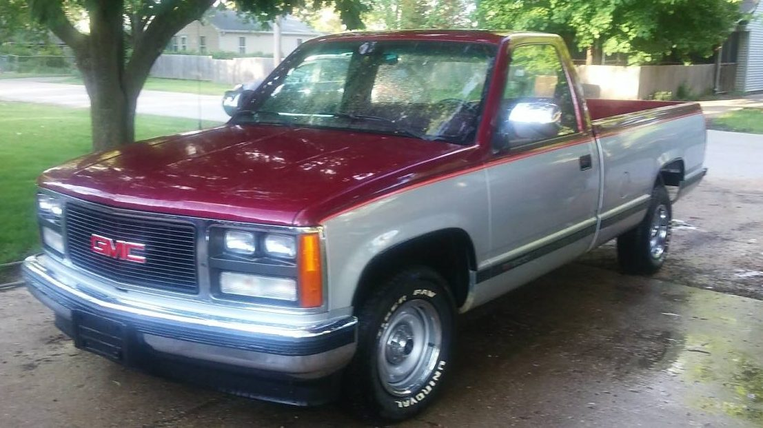 Bought And Parked 53 Mile 88 Gmc Sierra