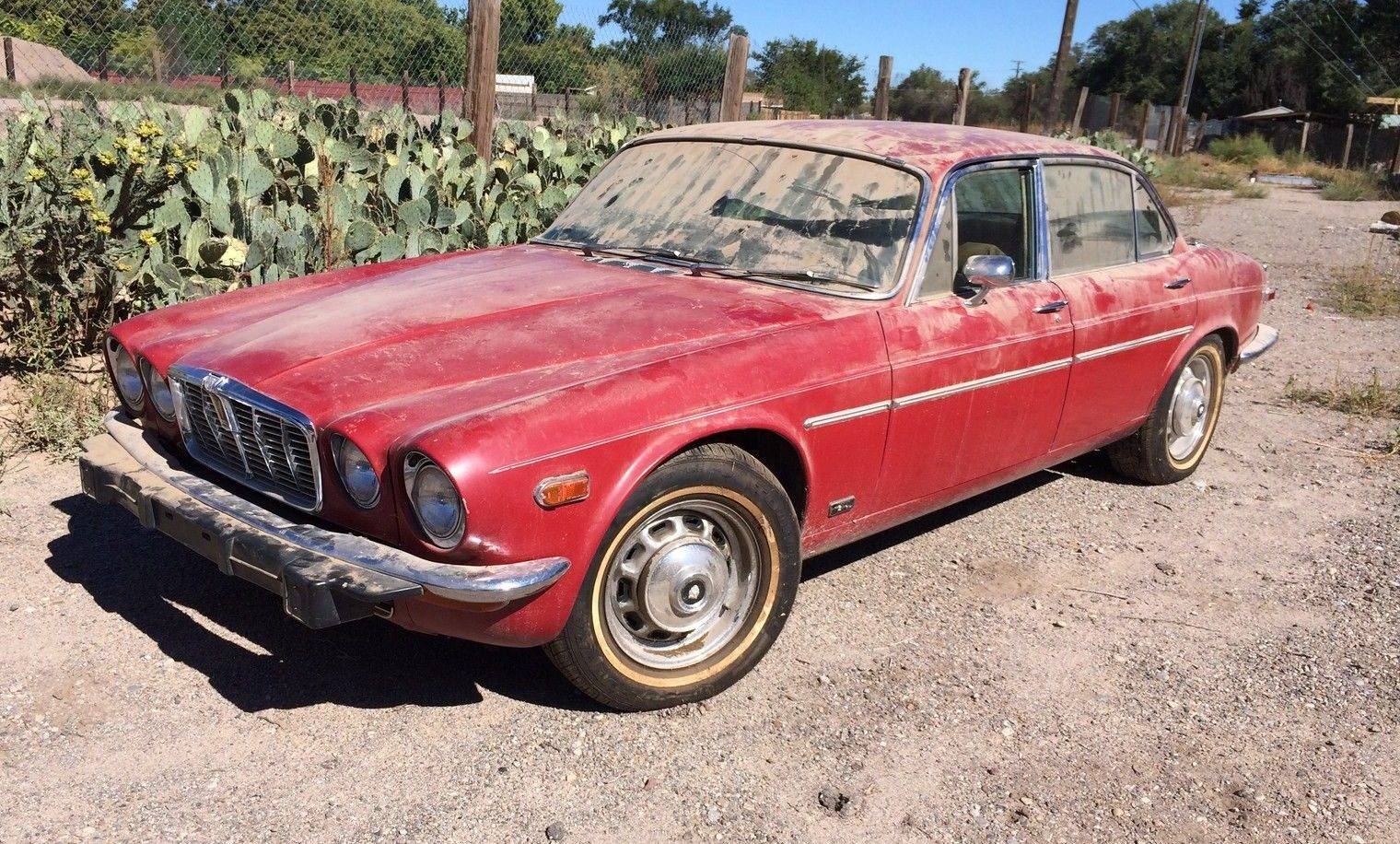 Junkyard Find: 1974 Jaguar XJ12