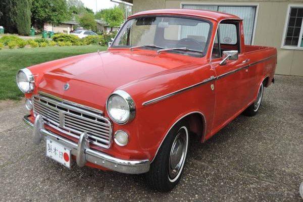 Tiny Survivor Truck: 1965 Datsun NL320