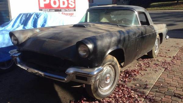 Clipped Wings: 1956 Ford Thunderbird