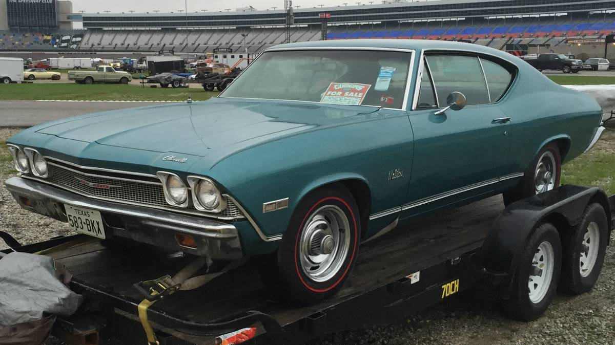 Muscle Cars List >> Cleaned Up Nicely: 1968 Chevelle Malibu