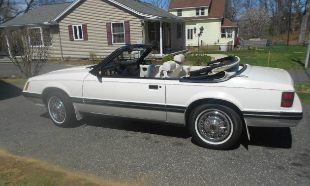 8,886 Miles: 1983 Ford Mustang GLX