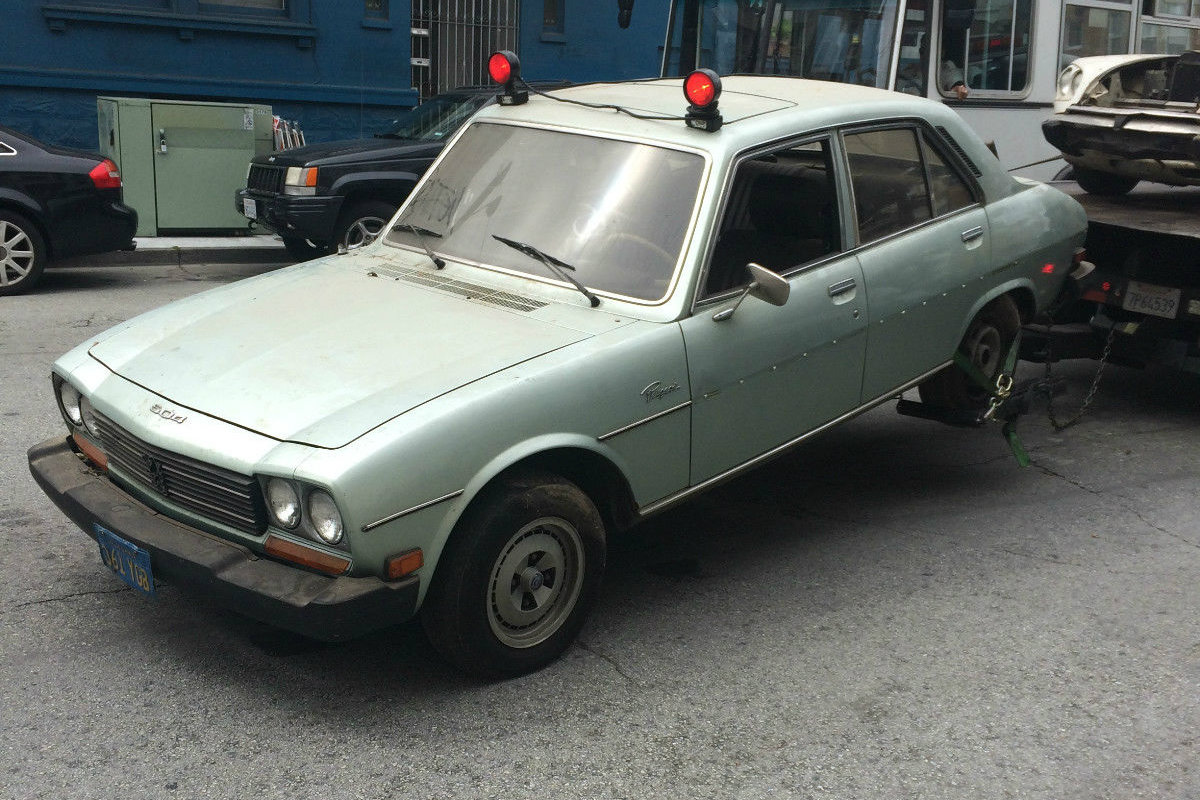 Rescued By A Writer 1979 Peugeot 504 Diesel