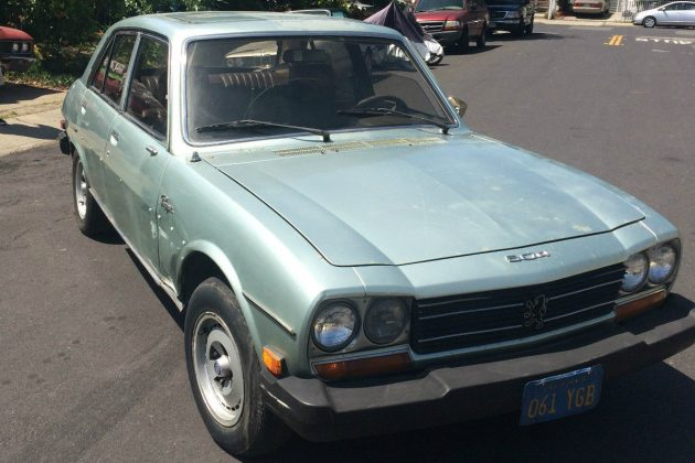 Rescued By A Writer: 1979 Peugeot 504 Diesel