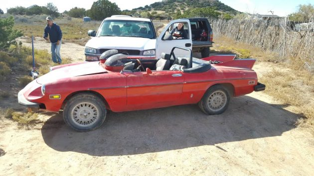 Bataromeo? Modified 1977 Alfa Spider