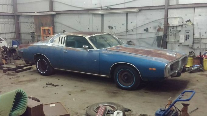Rust Is Free 1973 Dodge Charger Se