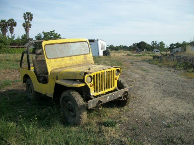 Willys Or Ford 1942 Jeep