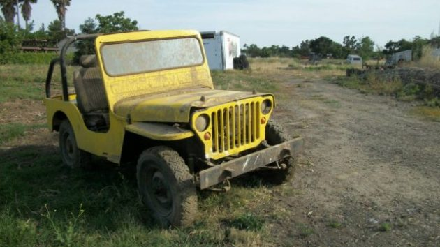 Willys Or Ford? 1942 Jeep