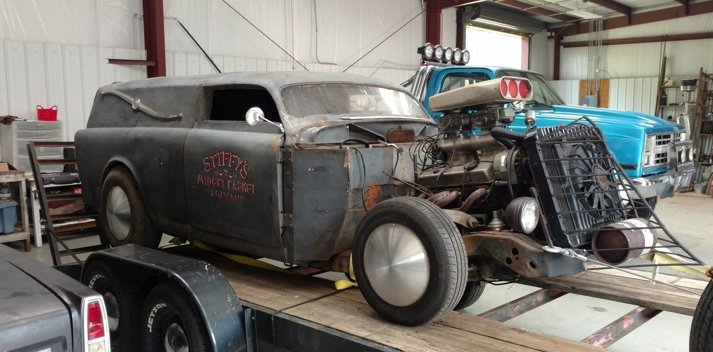 the midget casket: 1967 volvo amazon rat rod