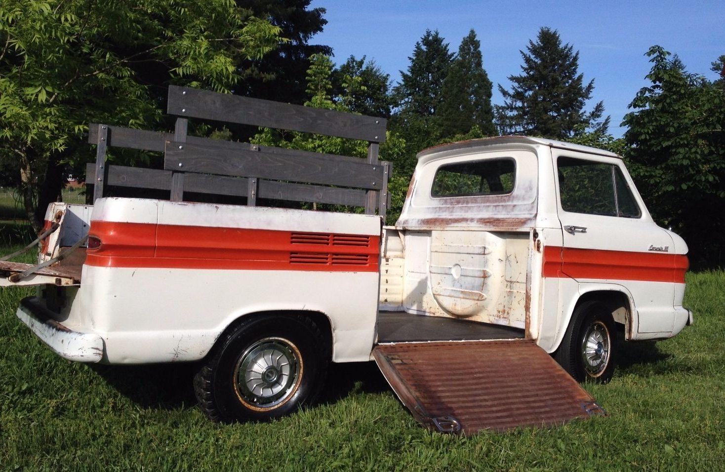 Workhorse Survivor 1961 Corvair Rampside Chevy Pickup Truck