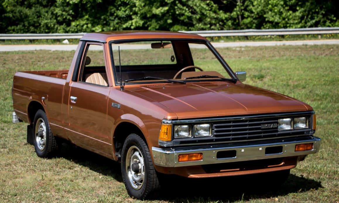 rust free, work ready: 1985 nissan pickup