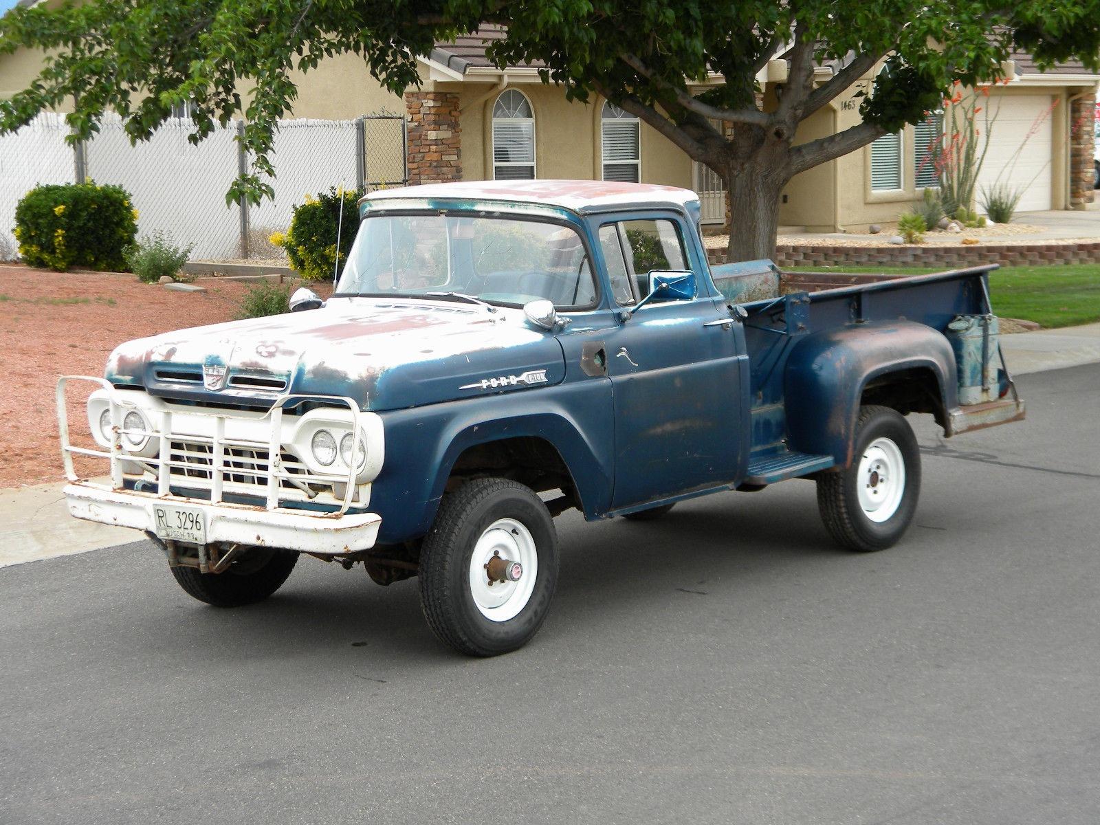Big Blue 1960 Ford F 100