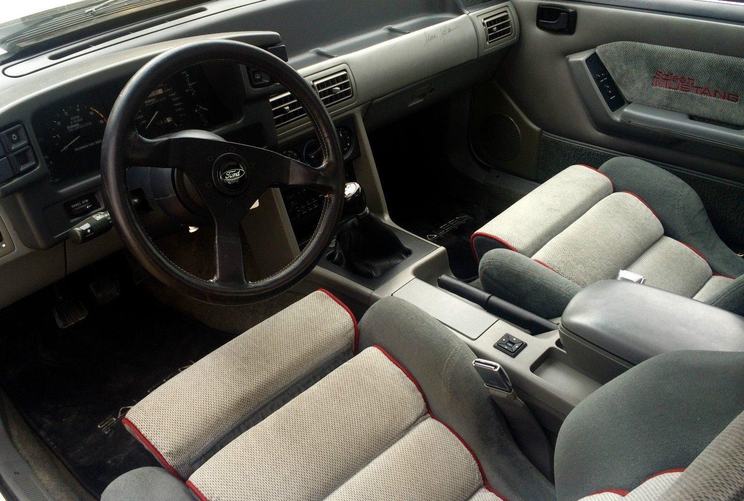 Lotto Winnings: 1988 Ford Mustang Saleen