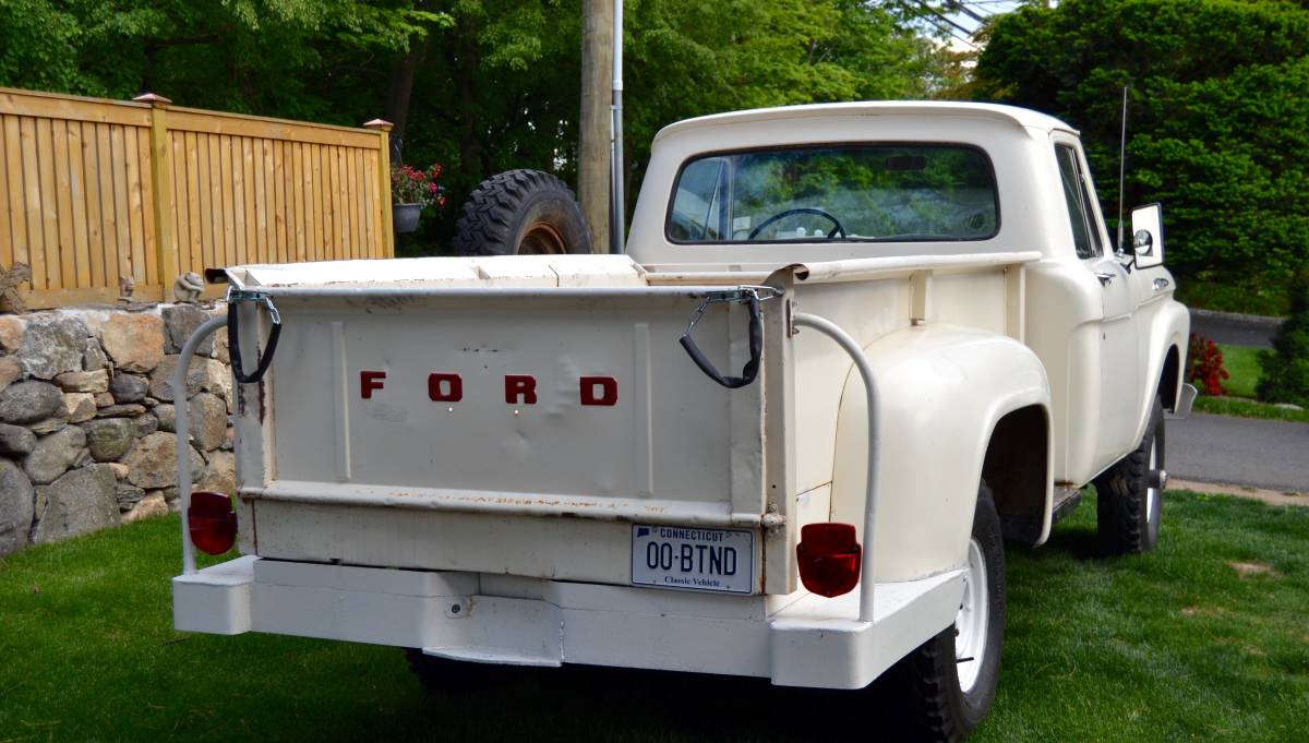 Haul With Flair 1961 Ford F100 4wd Pick Up 00202 825qzzv2se7 1200x900 Even In Knew Its Four Wheel Drive Trucks