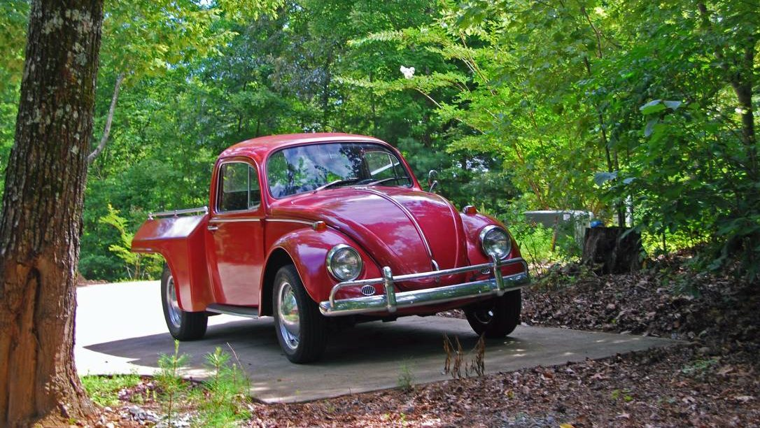 Punch Truck: 1967 VW Beetle Pickup