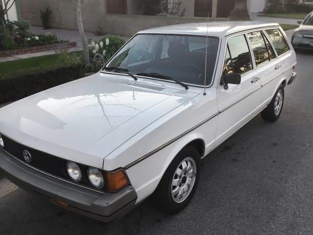 060116 Barn Finds - 1980 VW Dasher Wagon - 1