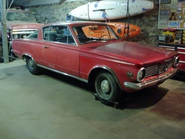 060216 Barn Finds - 1964 Plymouth Barracuda - 1