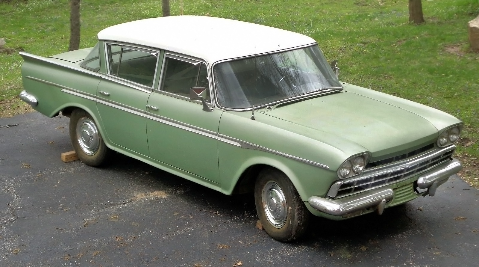 Original 1960 Amc Rambler Custom