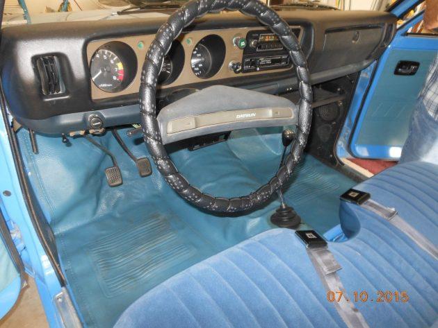 061016 Barn Finds - 1974 Datsun 620 pickup - 4