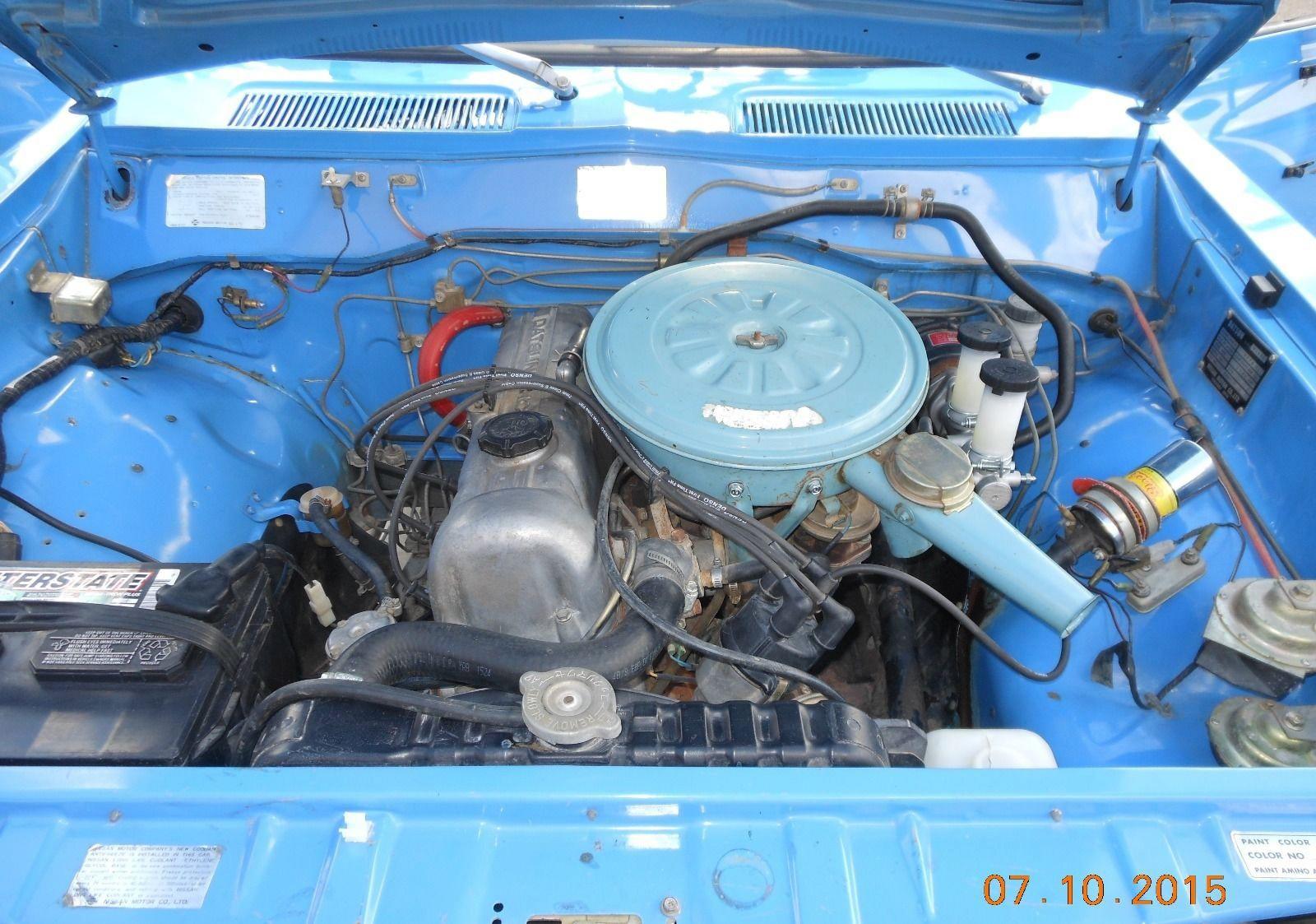 Original Arizona Truck 1974 Datsun 620 Pickup