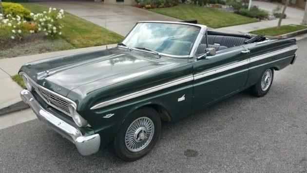 061116 Barn Finds - 1965 Ford Falcon Futura Convertible - 1