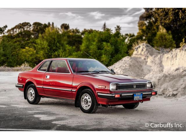 Incredible One-Owner Car: 1982 Honda Prelude