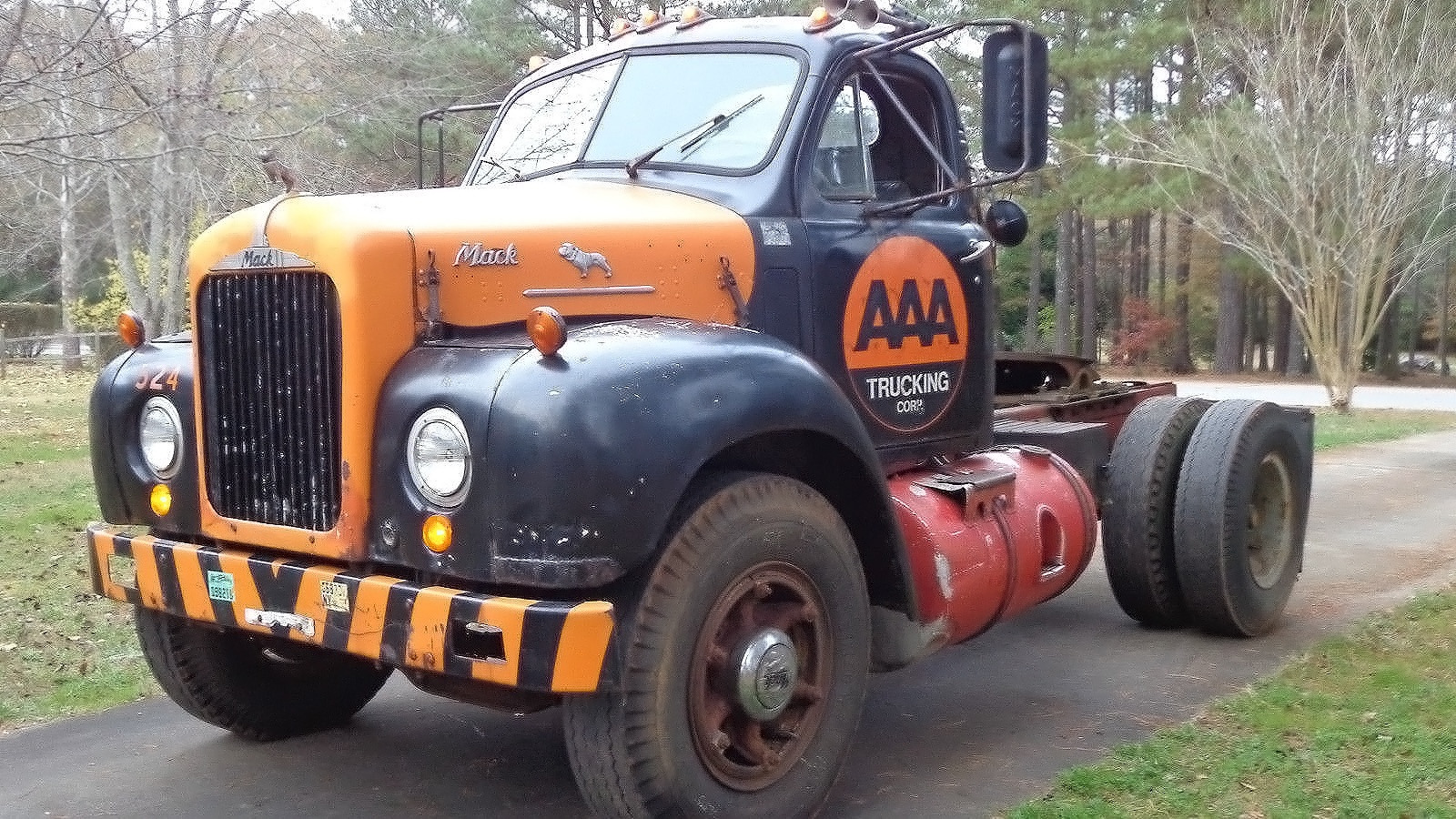 The Mack Daddy Of Trucks 1959 B67T