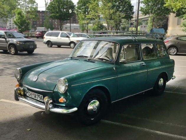 061216 Barn Finds - 1968 Volkswagen Type 3 Squareback - 1