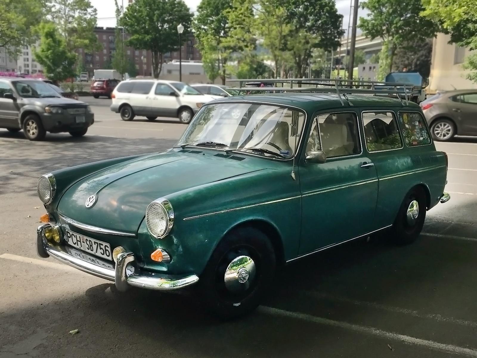 Original VDub: 1968 Volkswagen Type 3 Squareback
