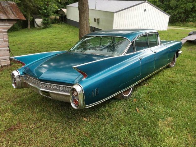 061316 Barn Finds - 1960 Cadillac Fleetwood - 1