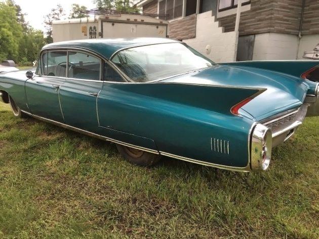 061316 Barn Finds - 1960 Cadillac Fleetwood - 3