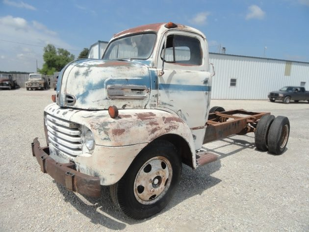 061516 Barn Finds - 1949 Ford F-6 COE - 1