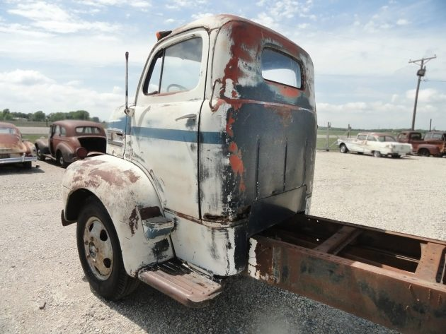 061516 Barn Finds - 1949 Ford F-6 COE - 3
