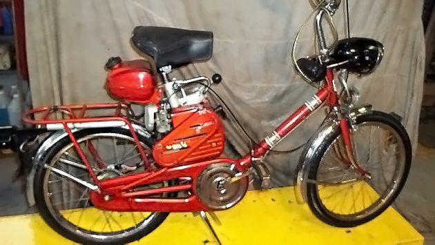 Fold 'em: 1964 Bianchi Avanti Sport Folding Moped