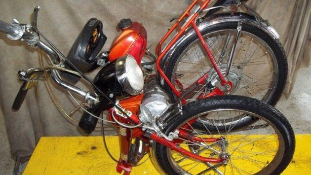 061616 Barn Finds - 1964 Bianchi Avanti Sport Folding Moped - 2