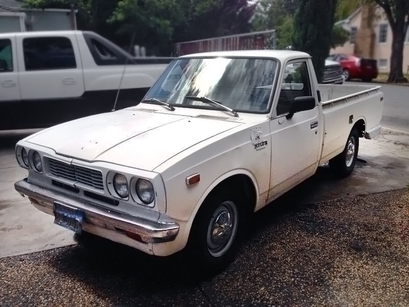 Clash Of The Titans: 1973 Toyota Hilux Pickup