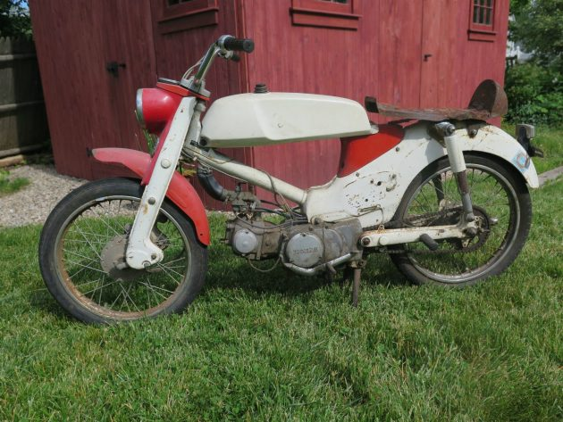 061716 Barn Finds - 1966 Honda CM91 Super Cub 90 with rally kit - 1