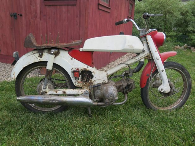 061716 Barn Finds - 1966 Honda CM91 Super Cub 90 with rally kit - 2