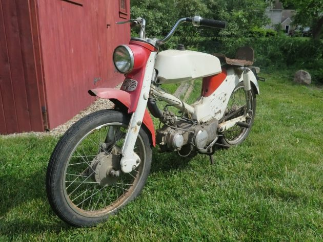 061716 Barn Finds - 1966 Honda CM91 Super Cub 90 with rally kit - 3