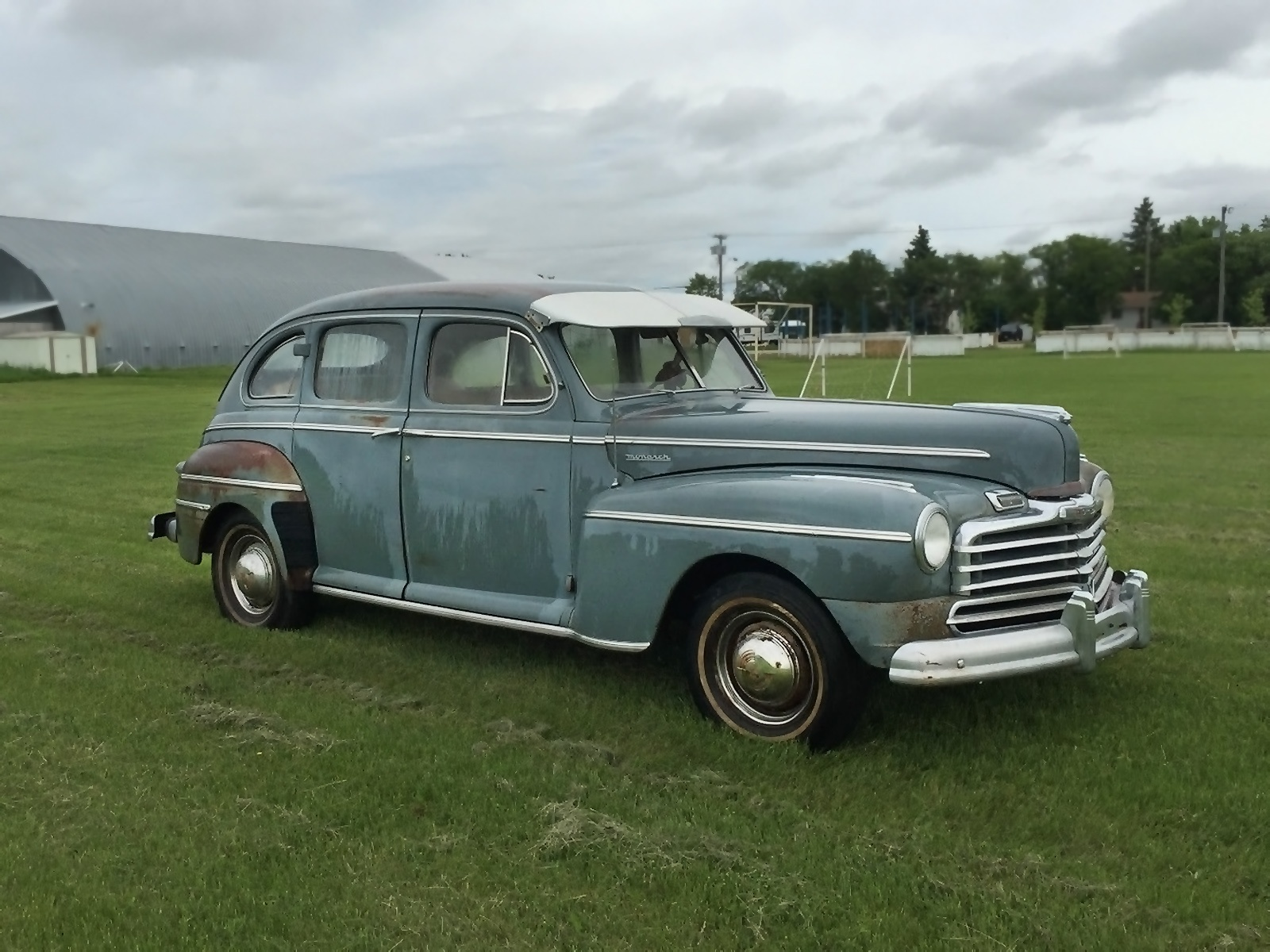Cool Canadian Car 1947 Mercury Monarch Sedan