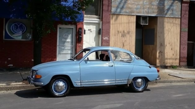 061816 Barn Finds - 1969 Saab 96 V4 Deluxe - 1