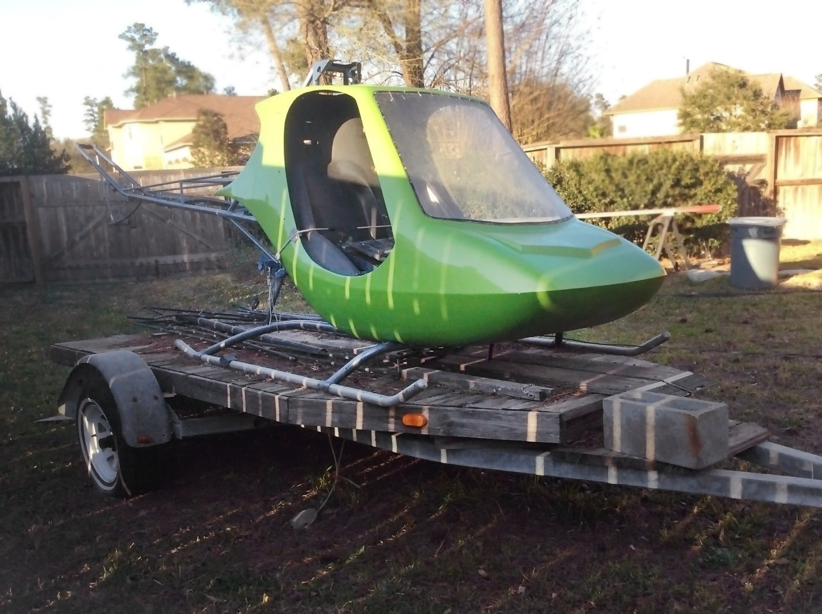 Kit Kopter: 1976 RotorWay Scorpion Too