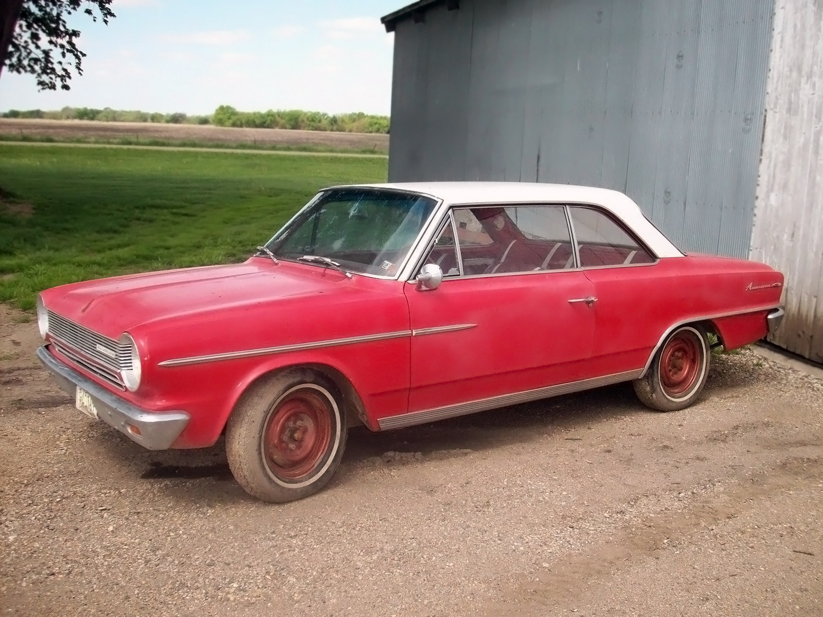 rural american 1964 amc rambler american 440