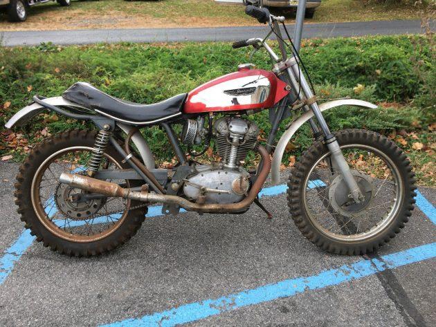 """""""Barn Find Condition"""": 1968 Ducati 250 Scrambler"""