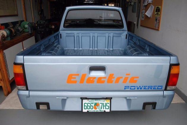 062016 Barn Finds - 1991 Mazda B 2200 EV Pickup - 3